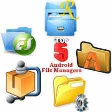 افضل خمس برامج مدير ملفات للاندرويد
