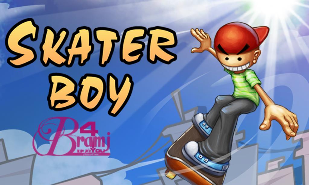 لعبة Skater Boy لانظمة الأندرويد لعبة شيقة جداً العاب اندرويد
