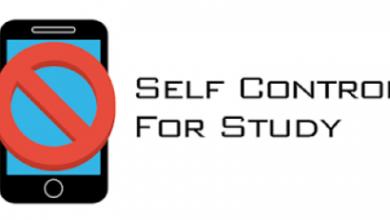 برنامج self control for study لغلق التطبيقات أثناء المذاكرة للأندرويد