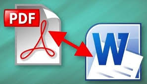 طريقة تحويل صيغة الـ pdf إلى word