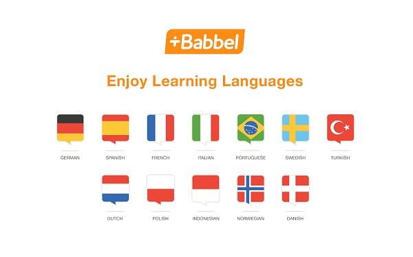 Babbel-Languages