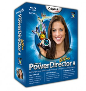 CyberLink PowerDirector 8 Ultra