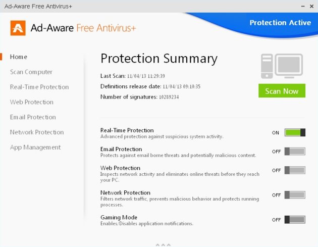 340721-ad-aware-free-antivirus-11-main-window