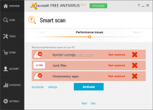 Avast-smart-scan-shows-Performance-issues