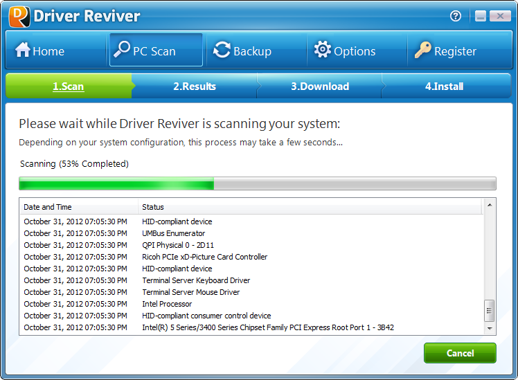 Driver-Reviver-drivers-scan
