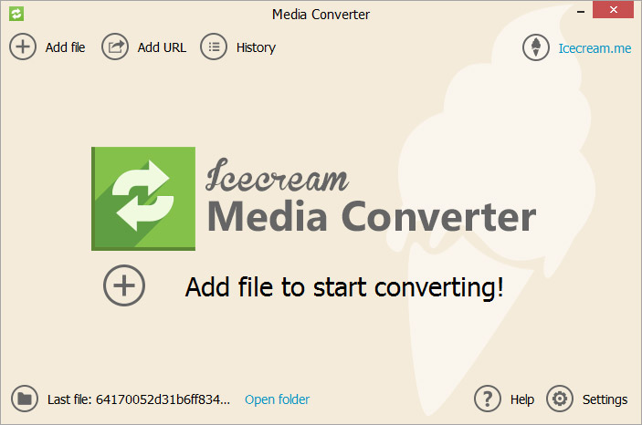 Icecream-Media-Converter