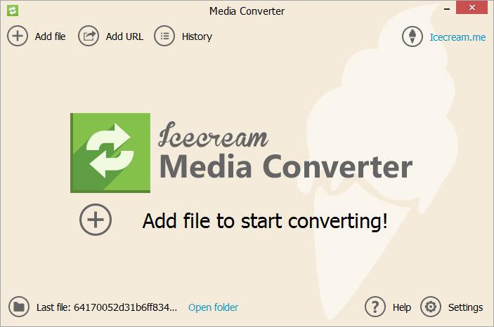 Icecream-Media-Converter