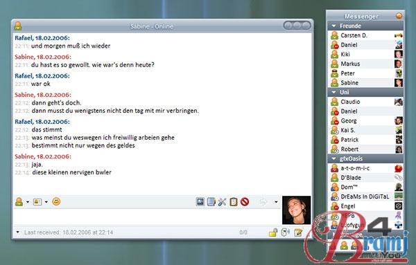 Miranda IM_screenshot