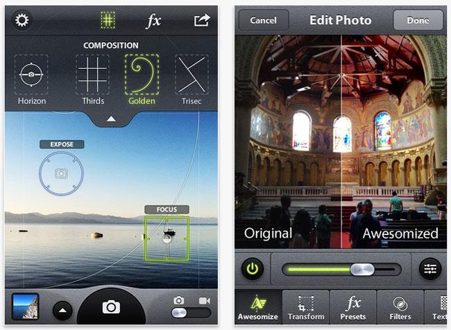 SmugMug-Camera-Awesome-application