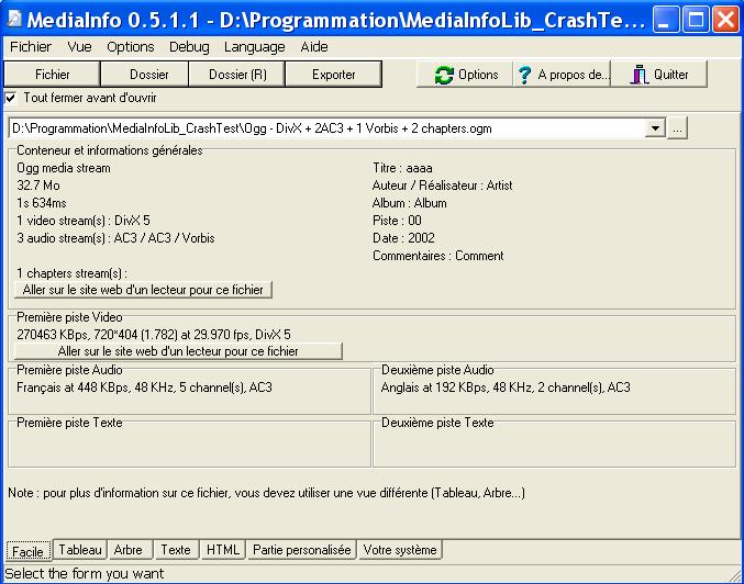 mediainfo_GUI_Easy_fr