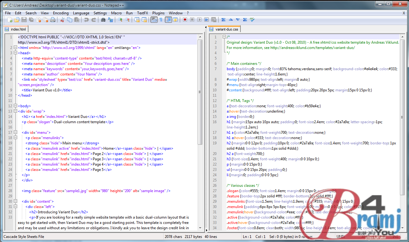 notepad++-screenshot